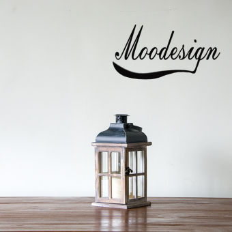 JK retro space wooden glass candle holder lantern