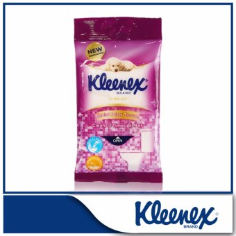Harga Kleenex Ultra Soft Moist Toilet Tissue 10sheets