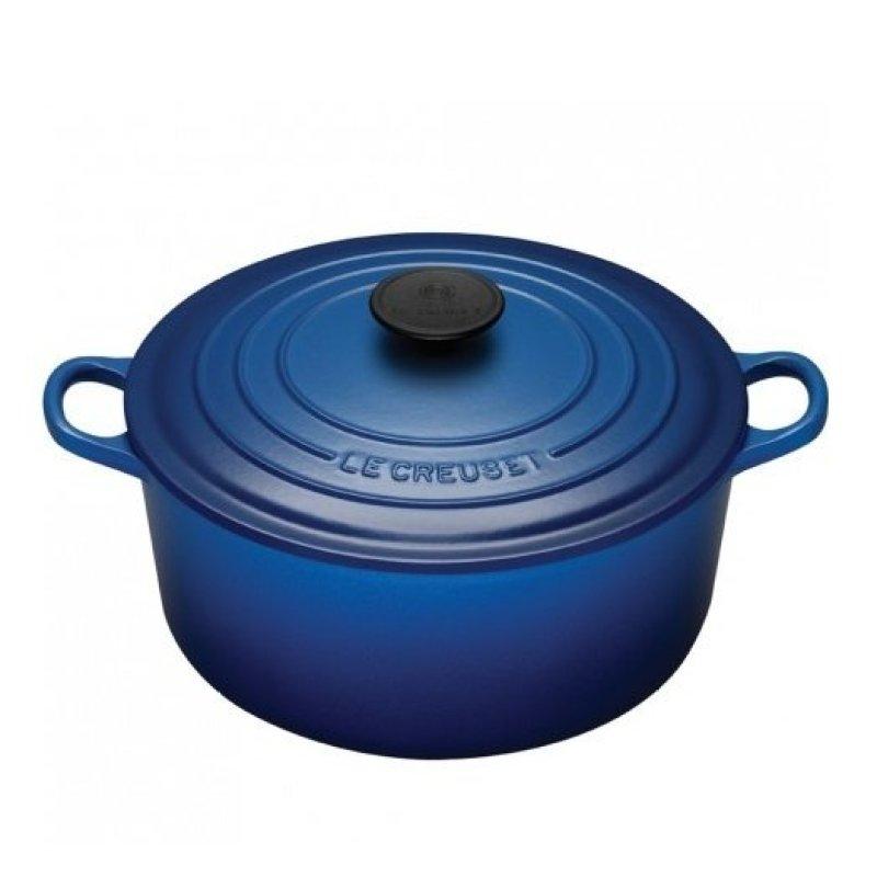 Le Creuset Cast Iron Round French Oven 16cm, Classic (Cobalt Blue) Singapore