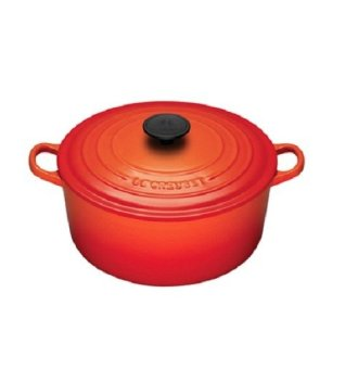 Le Creuset Cast Iron Round French Oven 16cm, Classic (Flame)
