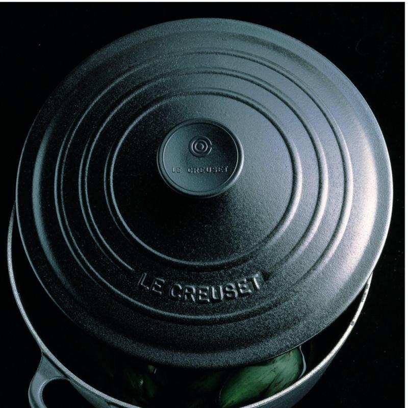 Le Creuset Cast Iron Round French Oven 16cm, Classic (Matt Black) Singapore