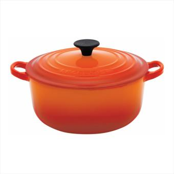 Le Creuset Cast Iron Round French Oven 20cm, Classic (Flame)
