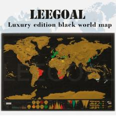 Snsd holiday night poster price in singapore leegoal novelty world map educational scratch off map poster travel map wall map black gumiabroncs Gallery