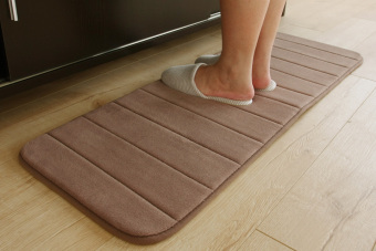 Long absorbent kitchen bathroom non-slip mat