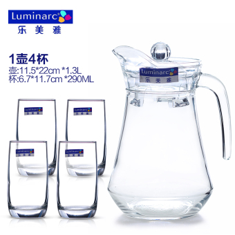 Luminarc heat-resistant large capacity explosion-proof home cool water pot glass of cold water bottle