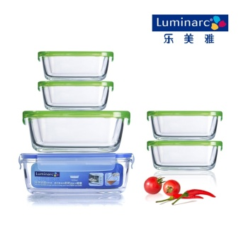 Luminarc microwave lunch boxes glass boxes