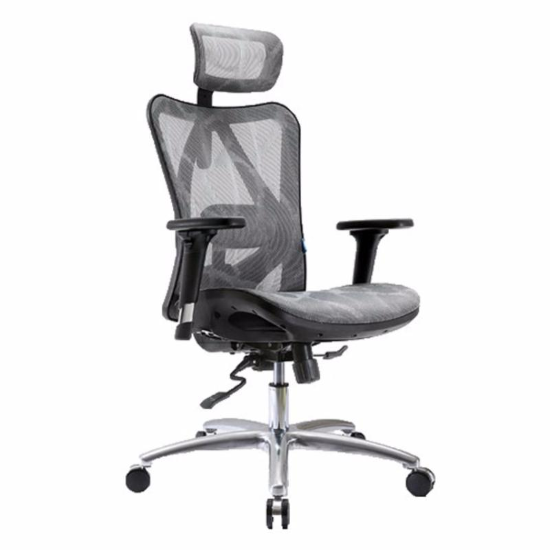 M16 Ventilated Office Chair (Grey)(Installation Option Available) Singapore