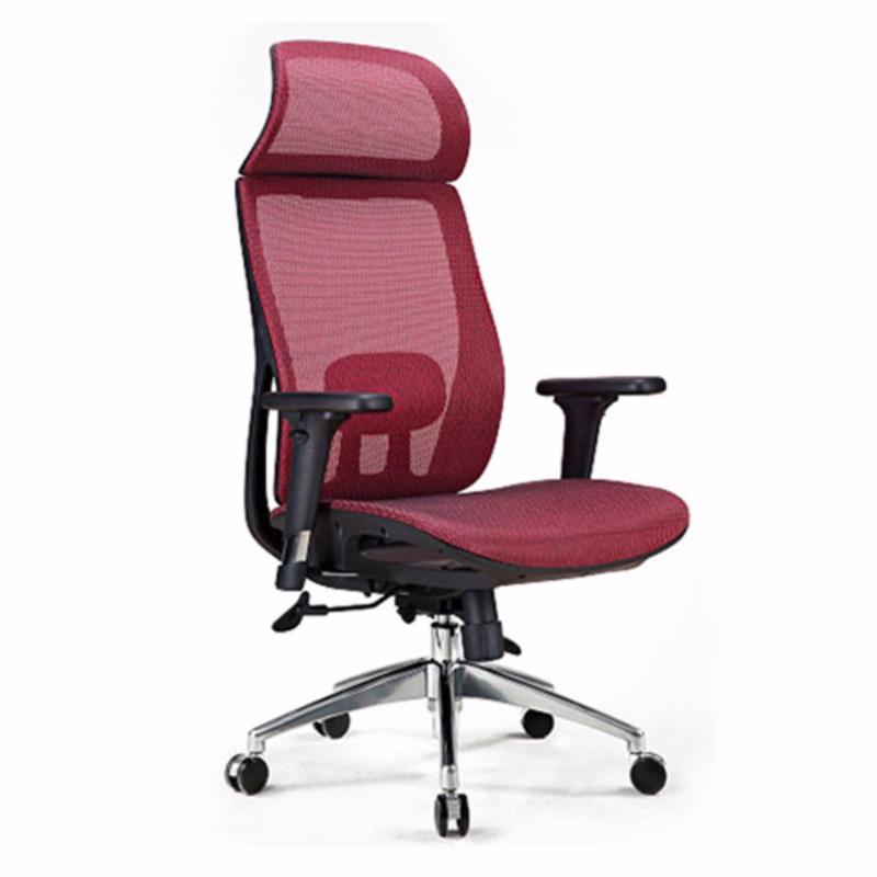 M21 Villa Office Chair (Red)(Installation Option Available) Singapore