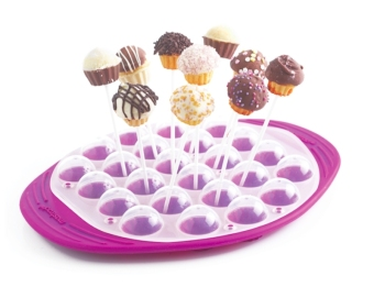 Mastrad F44960 Cupcake Pops Kit Berry (EXPORT)