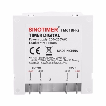 Microcomputer Time Switch Digital Power Control Programmable Timer - intl - 5