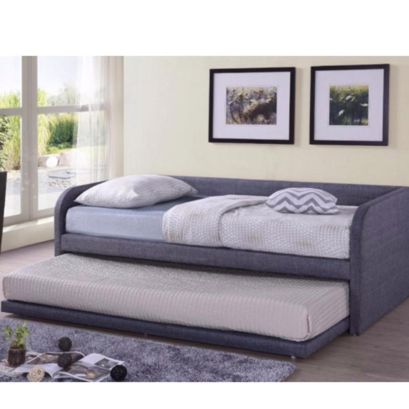 Mintz SR Fabric Pull-Out Bed Frame