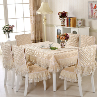 Modern Chinese cover dining chair cushion chair cover