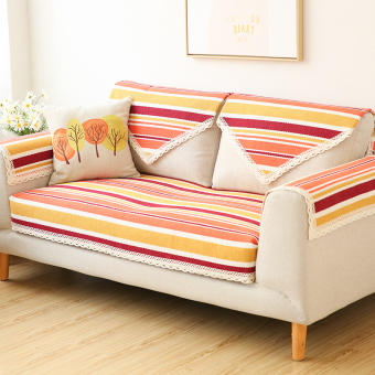 Harga Modern Garden color of the orange living room sofa cover sofa pad