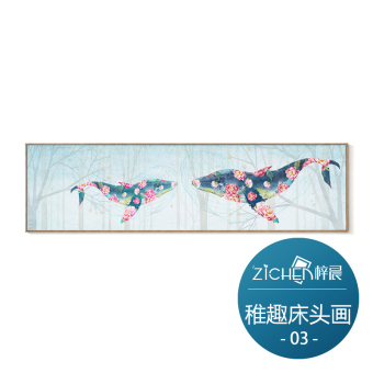 Modern Jianyue bedroom bedside painting paintings living room Decorative Painting