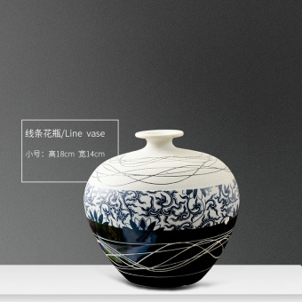 Modern Jianyue living room TV Cabinet table decoration ceramic vase