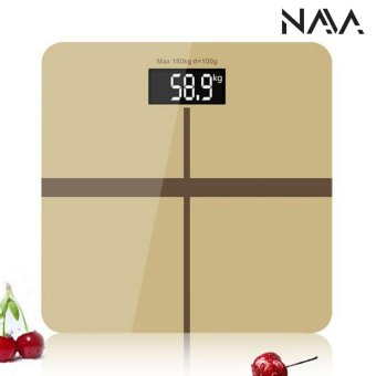 Harga NaVa Gold Precision 28*28 Digital Weighing Machine Body MeasuringScale