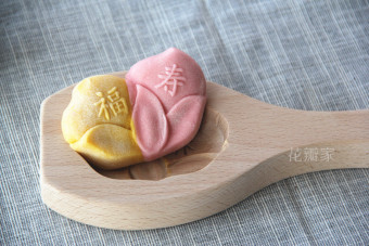 New Wood Snowy moon cake bread mold