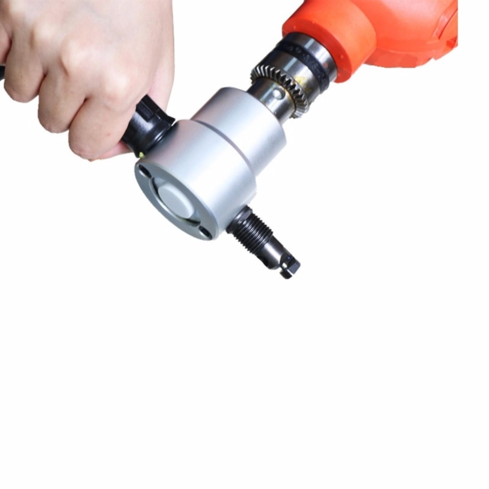 nibble metal cutting double head sheet nibbler saw cutter tool drill attachment free cutting tool nibbler