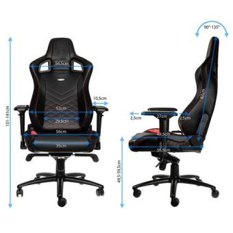 Noble Chairs Gaming Chair Epic Series (black/red) - 5