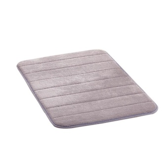 Non-Slip Floor Rug Soft Bathroom Absorbent Memory Foam Bath Mats - intl