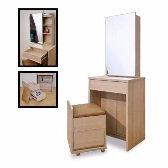 Nova U 343-46 Dressing Table with Stool (FREE DELIVERY) (FREE ASSEMBLY)