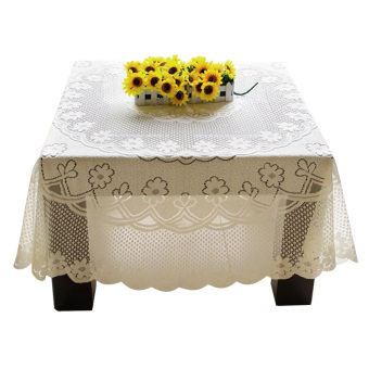 PAlight Embroidery Lace Tablecloth (100*100cm Square)