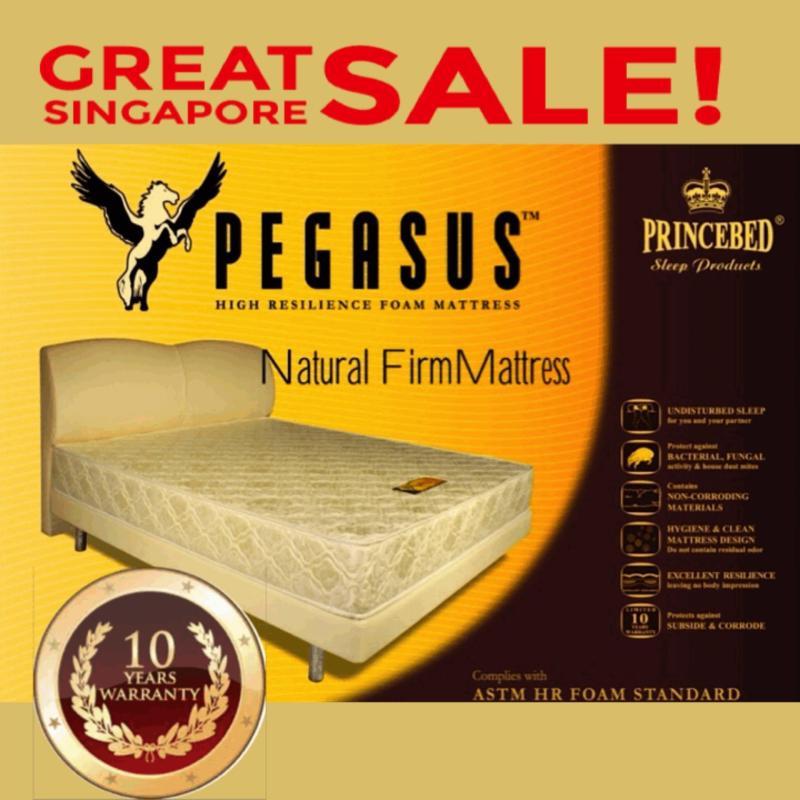 Pegasus Natural Firm High Density Foam Single 6 Inch Mattress