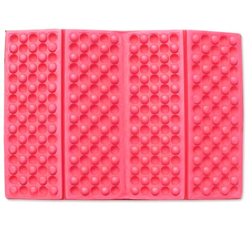 Portable Foldable Foam Moisture Proof Seat Cushion EVA Mat Pad Garden Camping Picnic (Red)