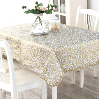 PVC Waterproof Heat Resistant Oil Resistant table cloth tablecloth