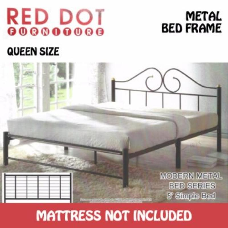 Red Dot Furniture TPH100 Texture Beige/Silver Daybed (Without Mattress)