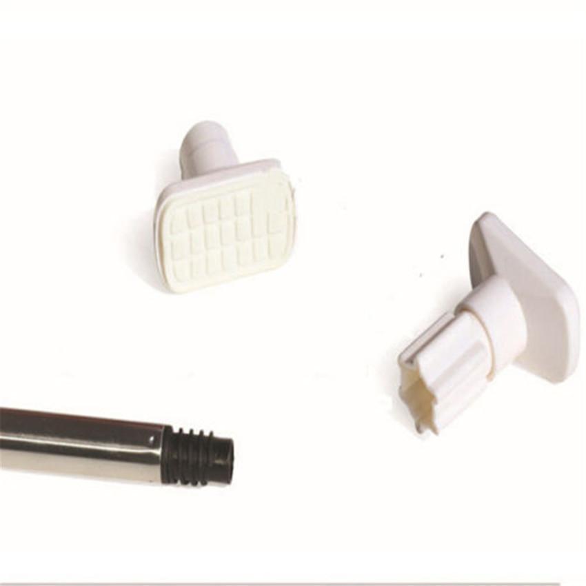 S & F Stainless Steel Adjustable Tension Door Bathroom ShowerCurtain Pole Rod