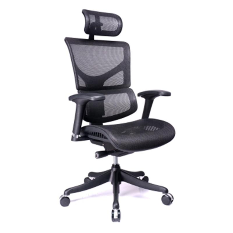 SAIL Serial Ergonomic Office Chair (Black)(Installation Option Available) Singapore