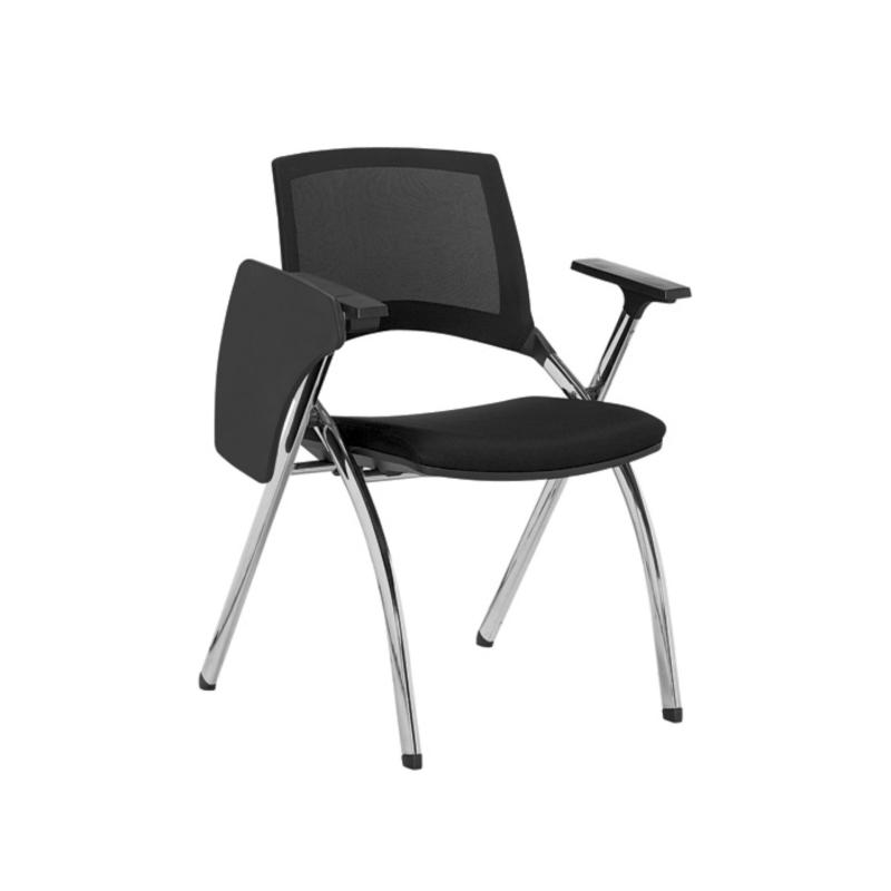 Sapphire II Fold-able Training Student Mesh Office Chair with Tablet Singapore