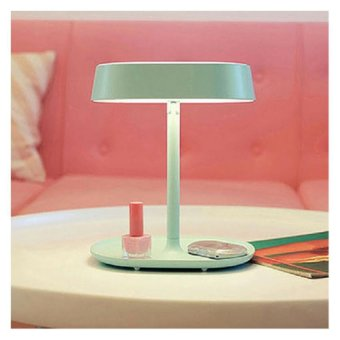 Harga Shoppy Make Up Mirror Feat. Table Lamp (Mint)