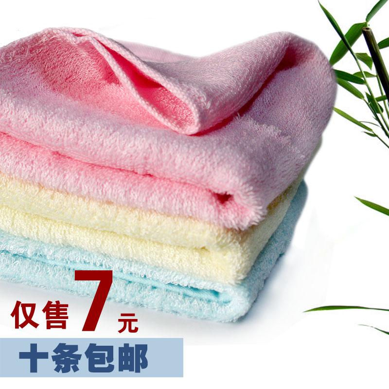 Shu Siman Bamboo Fiber Towel Wash Towel Beauty Towel To Wipe Her Face Towel 10 Strip