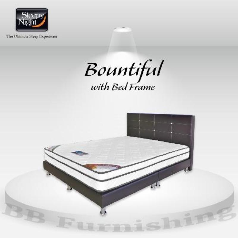 Single Bountiful Mattress + A55 Bedframe