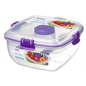 Harga Sistema Salad To Go 1.1L (Purple)
