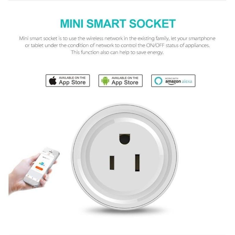 Smart Plug WiFi Enabled US Socket Remote Control Outlet Home Appliances - intl