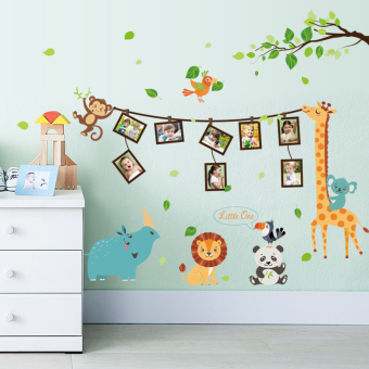 Snnei children's room layout wall stickers wall Decorative Painting