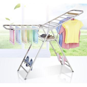 Harga Stainless Steel Clothes Hanger - Clothes rack