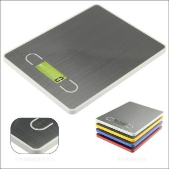 Harga Stainless Steel Electronic Scales Kitchen Scales Weight Scale FoodBaking Scales