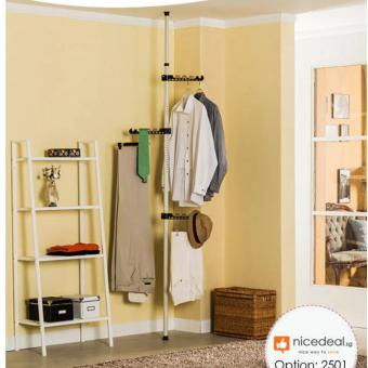 Standing Pole Clothes Hanger Rack - Single Rod 2501 (Thickness of pole : 25mm)