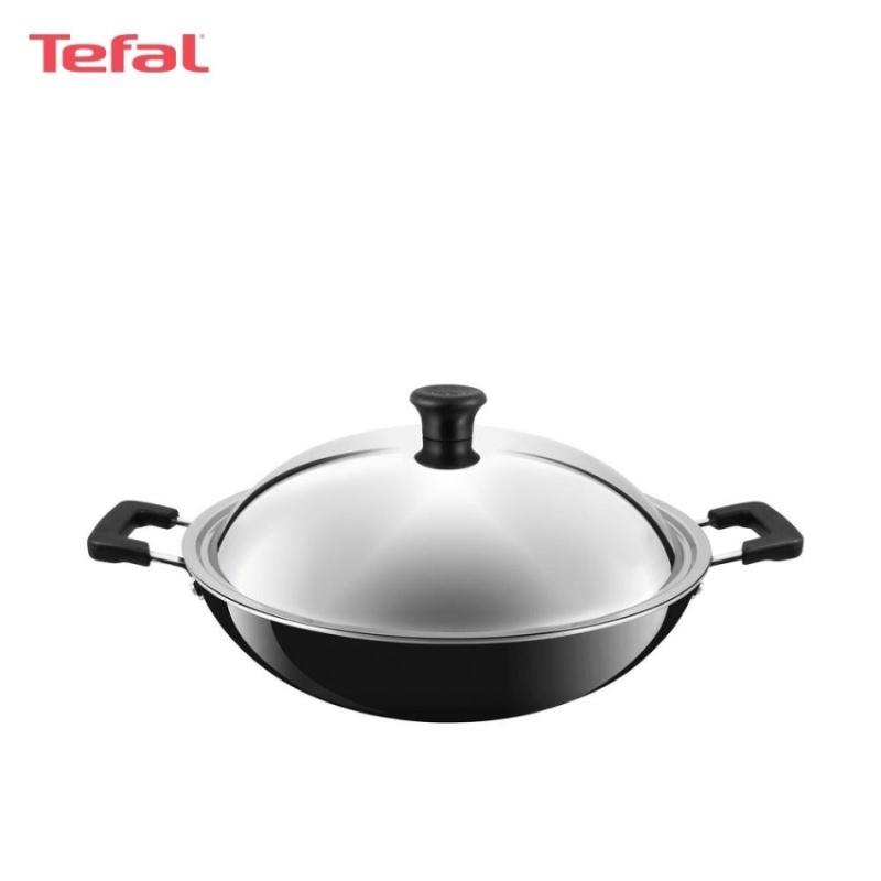 Tefal Asian Chinese Wok 40cm w/Lid - C5289714 Singapore