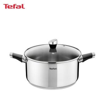 Tefal Emotion Stainless Steel Stewpot 26cm w/Lid - E8235224