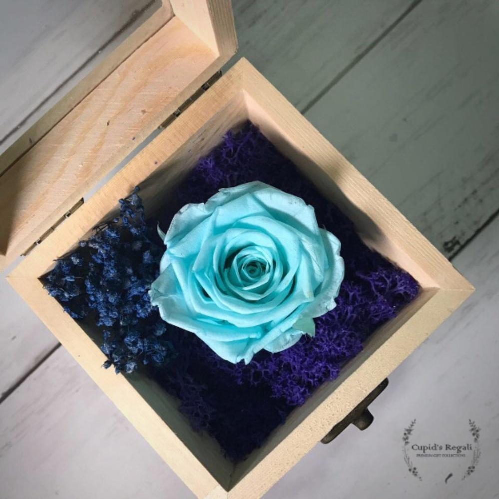 Tiffany blue flower rose box teachers day gift singapore tiffany blue flower rose box teachers day gift izmirmasajfo