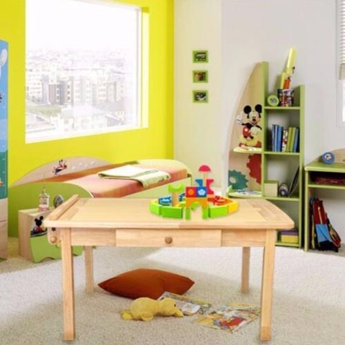 TKT001 Solid Wood Kids Drawing/Study Table
