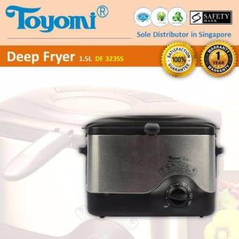 Toyomi DF 323SS Deep Fryer S/Steel Body 1.5L