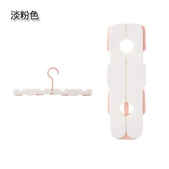 Travel dual use clothes child support multi-clothes rack hanger