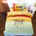 Vatican Europe cotton single men and women cartoon bedding three sets of 1.2m bed supplies college students dormitory bedroom