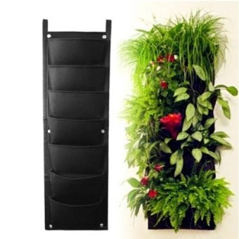 Vertical Wall Garden Planter 7 Pockets/ Plant Pocket